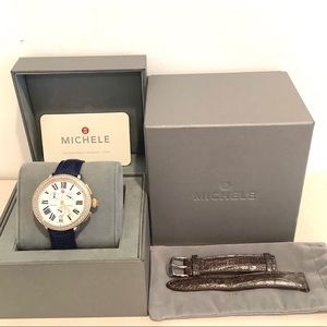 Michele Serein 100 Diamonds Chrono Ladies Watch